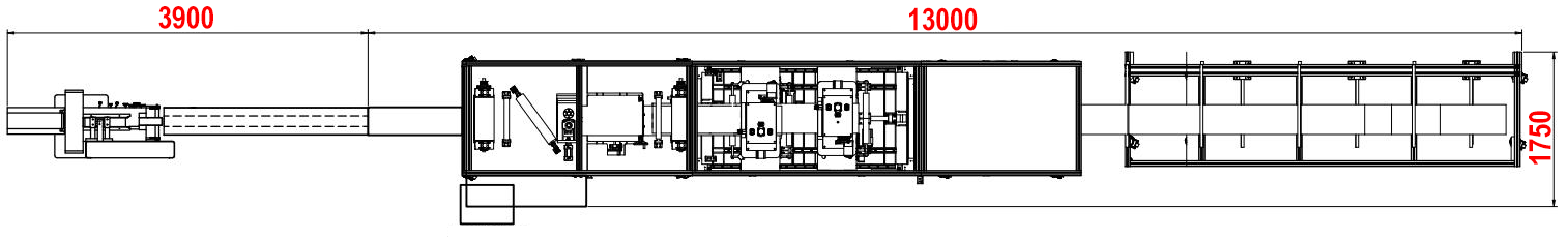 foldable respirator mask production line layout