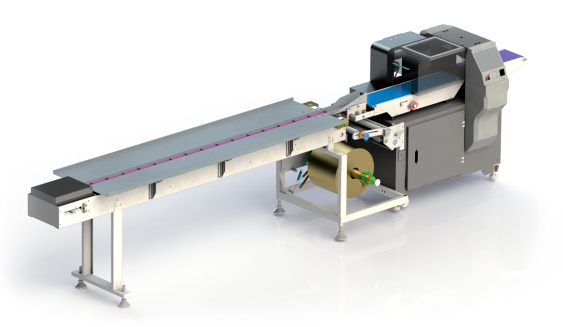Packaging machine for face mask