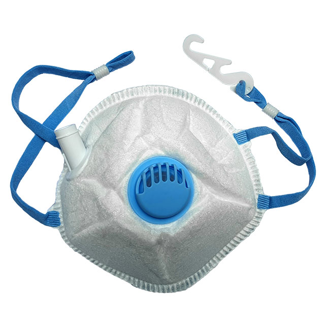 respirator  mask with exhalation valve